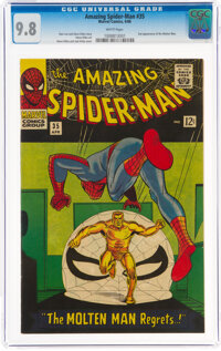 The Amazing Spider-Man #35 (Marvel, 1966) CGC NM/MT 9.8 White pages