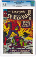 Silver Age (1956-1969):Superhero, The Amazing Spider-Man #40 (Marvel, 1966) CGC NM/MT 9.8 Off-white to white pages....