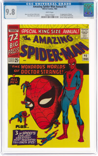 The Amazing Spider-Man Annual #2 (Marvel, 1965) CGC NM/MT 9.8 White pages