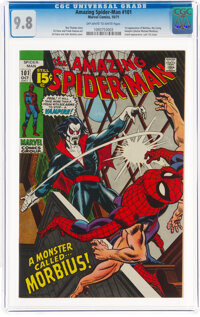 The Amazing Spider-Man #101 (Marvel, 1971) CGC NM/MT 9.8 Off-white to white pages