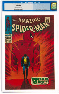 The Amazing Spider-Man #50 (Marvel, 1967) CGC NM+ 9.6 Off-white to white pages