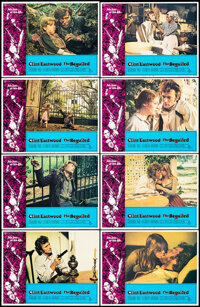 """The Beguiled (Universal, 1971). Very Fine/Near Mint. Lobby Card Set of 8 (11"""" X 14""""). Thriller. ... (Total: 8..."""