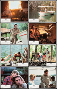 """The River Rat & Other Lot (Paramount, 1984). Very Fine+. Lobby Card Set of 8 (11"""" X 14"""") & One Sheet (..."""
