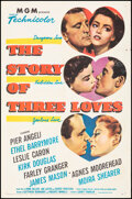 """The Story of Three Loves (MGM, 1953). Folded, Very Fine-. One Sheet (27"""" X 41""""). Romance"""