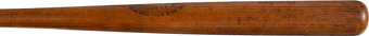 Featured item image of 1920 Babe Ruth Game Used & Signed Bat, PSA/DNA GU 10 & MEARS A10....
