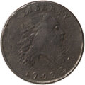 Large Cents, 1793 1C Chain, AMERICA, S-2, B-2, High R.4, VF20 PCGS....