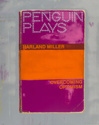Harland Miller (b. 1964) Overcoming Optimism, 2014 Screenprint in colors on paper 54 x 43 inches