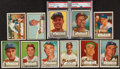 Baseball Cards:Lots, 1952 Topps Baseball High Number Collection (11). ...