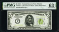 Small Size:Federal Reserve Notes, Fr. 1955-F $5 1934 Federal Reserve Note. PMG Choice Uncirculated 63 EPQ.. ...