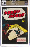 Golden Age (1938-1955):Crime, Kerry Drake Detective Cases #3 The Promise Collection Pedigree (Harvey, 1944) CGC NM/MT 9.8 Off-white to white pages....