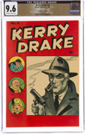 Golden Age (1938-1955):Crime, Kerry Drake Detective Cases #4 The Promise Collection Pedigree (Harvey, 1944) CGC NM+ 9.6 Off-white to white pages....