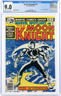 Bronze Age (1970-1979):Superhero, Marvel Spotlight #28 Moon Knight (Marvel, 1976) CGC VF/NM 9.0 Off-white to white pages....
