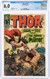 Thor #128 (Marvel, 1966) CGC FN 6.0 Off-white pages