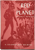 Books:First Editions, Robert A. Heinlein. Red Planet....