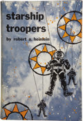 Books:First Editions, Robert A. Heinlein. Starship Troopers....