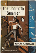 Books:First Editions, Robert A. Heinlein. The Door Into Summer....