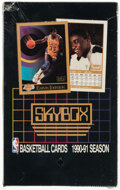 Basketball Cards:Unopened Packs/Display Boxes, 1990-91 Skybox Basketball Series 1 Wax Box. Offere...