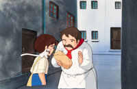 Isao Takahata Marco / 3000 Leagues in Search of Mother Cellulo de Production, Master Background, Dôga (Nippon Anim...