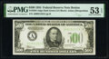 Fr. 2201-A $500 1934 Federal Reserve Note. PMG About Uncirculated 53 EPQ