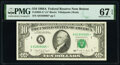 Small Size:Federal Reserve Notes, Fr. 2028-A* $10 1988A Federal Reserve Star Note. PMG Superb Gem Unc 67 EPQ.. ...