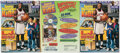 """Golf Cards:General, 1996 """"Sports Illustrated for Kids"""" Magazines, Lot of 3 - Uncut Sheet With Tiger Woods Rookie Card! ..."""