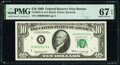 Small Size:Federal Reserve Notes, Low Serial Number 239 Fr. 2018-A $10 1969 Federal Reserve Note. PMG Superb Gem Unc 67 EPQ.. ...
