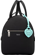 """Luxury Accessories:Bags, Tiffany & Co. Black Calfskin Leather Backpack. Condition: 1. 9"""" Width x 10.5"""" Height x 3.5"""" Depth"""