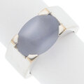 Estate Jewelry:Rings, Cartier Chalcedony, White Gold Ring. ...