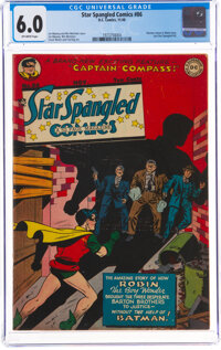 Star Spangled Comics #86 (DC, 1948) CGC FN 6.0 Off-white pages