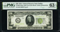 Small Size:Federal Reserve Notes, Fr. 2054-K $20 1934 Federal Reserve Note. PMG Choice Uncirculated 63 EPQ.. ...
