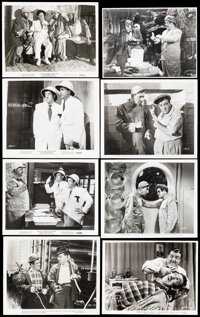 """Abbott and Costello Lot (1940s - 1960s). Very Fine-. Photos (11) (Approx. 8"""" X 10"""") & Restrike Photo (7.25..."""