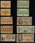 Fractional Currency:Fifth Issue, A Mixture of Ten Fractionals Very Good-Fine.. ... (Total: 10 notes)