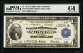 Fr. 743 $1 1918 Federal Reserve Bank Note PMG Choice Uncirculated 64 EPQ