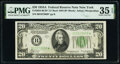 Small Size:Federal Reserve Notes, Fr. 2055-B* $20 1934A Federal Reserve Star Note. Late Finished Back Plate 204. PMG Choice Very Fine 35 EPQ.. ...