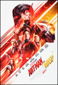 """Movie Posters:Action, Ant-Man and the Wasp (Walt Disney Studios, 2018). Rolled, Very Fine. One Sheet (27"""" X 40"""") DS Advance. Action.. ..."""