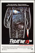 """Movie Posters:Horror, Friday the 13th (Paramount, 1980). Rolled, Fine/Very Fine. One Sheet (27"""" X 41"""") Alex Ebel Artwork. Horror.. ..."""