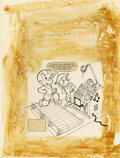 Original Comic Art:Covers, Warren Kremer - Richie Rich Inventions #16 Cover Original Art(Harvey, 1980).... (Total: 2 Items)