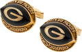 Football Collectibles:Others, 1967 Green Bay Packers Super Bowl II Cuff Links from The Glen Christensen Collection....