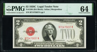 Fr. 1504 $2 1928C Legal Tender Note. PMG Choice Uncirculated 64