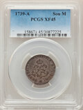 Colonials, 1739-A French Colonials Sou Marque, XF45 PCGS. PCGS Population: (5/17). NGC Census: (1/18)....