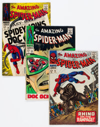 The Amazing Spider-Man Group of 48 (Marvel, 1966-75) Condition: Average VG/FN.... (Total: 48 )