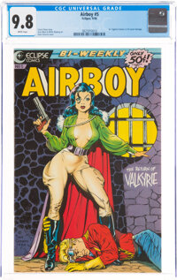 Airboy #5 (Eclipse, 1986) CGC NM/MT 9.8 White pages