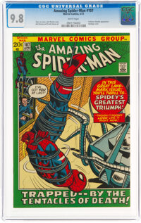 The Amazing Spider-Man #107 (Marvel, 1972) CGC NM/MT 9.8 White pages