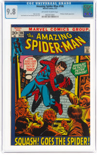 The Amazing Spider-Man #106 (Marvel, 1972) CGC NM/MT 9.8 Off-white to white pages