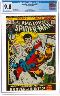 The Amazing Spider-Man #111 (Marvel, 1972) CGC NM/MT 9.8 White pages