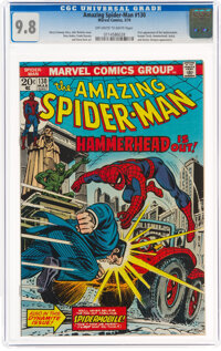 The Amazing Spider-Man #130 (Marvel, 1974) CGC NM/MT 9.8 Off-white to white pages