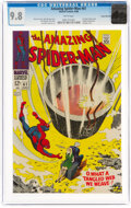 Silver Age (1956-1969):Superhero, The Amazing Spider-Man #61 Rocky Mountain Pedigree (Marvel, 1968) CGC NM/MT 9.8 White pages....