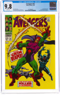 Silver Age (1956-1969):Superhero, The Avengers #52 (Marvel, 1968) CGC NM/MT 9.8 White pages....