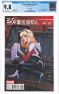 Modern Age (1980-Present):Superhero, Edge of Spider-Verse #2 Variant Edition (Marvel, 2014) CGC NM/MT 9.8 White pages....