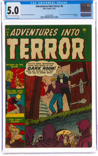 Adventures Into Terror #6 (Atlas, 1951) CGC VG/FN 5.0 Light tan to off-white pages